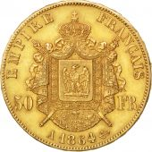 Second Empire, 50 Francs or Napoléon III tête laurée