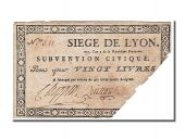 Siege of Lyon, 20 Livres issue of 28th and 31st August 1793