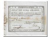 5 Francs type subvention extraordinaire de guerre de l'an VIII