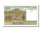 Madagascar, 500 Francs, Type 1994-1995