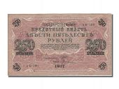 Russia, 250 Roubles, Type 1917
