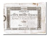 10 000 Francs Domaines Nationaux type, signed by Gomez