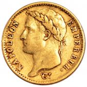 First French Empire, 20 gold Francs with Republic on reverse