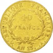 First French Empire, 40 gold Francs Napol�on Emperor