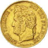 Louis Philippe I, 40 Francs or