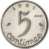 French Fifth Republic, 5 Centimes Ear essai