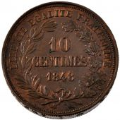 French Second Republic, 10 Centimes essai piéfort competition of Alard