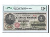 Etats-Unis, 1 Dollar Legal Tender Note 1862, PMG VF 30, Pick 128