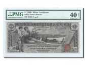 United States, 1 Dollar Silver Certificates Educational Serie 1896, PMG EF 40