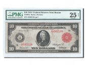 United States, 10 Dollars Federal Reserve Note 1914, PMG VF 25