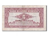 Western Africa, 5 Francs, type 1942-1943