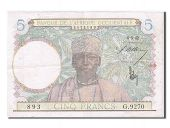 Western Africa, 5 Francs, type 1941-1943