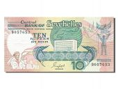 Seychelles, 10 Rupees, type 1989