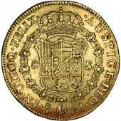 Chile, Charles IV, 8 Escudos