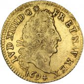 Louis XIV, 1/2 Louis d'or aux 4 L