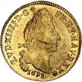 Louis XIV, Louis d'or aux 4 L