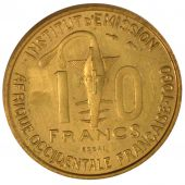 French Occidental Africa, 10 Francs Essai