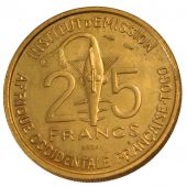 French Occidental Africa, 25 Francs Essai