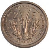 French Occidental Africa, 2 Francs Essai