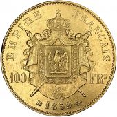 Second Empire, 100 Francs Napoléon III tête nue