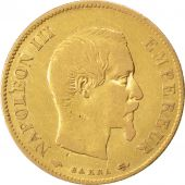 Second Empire, 10 Francs or Napoléon III tête nue