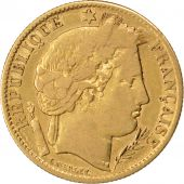 II�me R�publique, 10 Francs or C�r�s