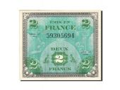 France, 2 Francs, 1944, 1944, KM:114a, SPL