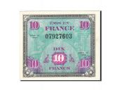 France, 10 Francs, 1944, 1944, KM:116a, SUP
