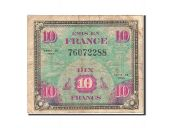 Billet, France, 10 Francs, 1944, 1944, TB, Fayette:VF18.1, KM:116a