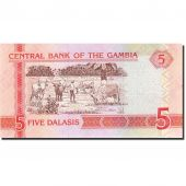 The Gambia, 5 Dalasis, 2001, Undated (2001), KM:20a, UNC(65-70)