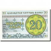Kazakhstan, 20 Tyin, 1993-1998, 1993, KM:5, NEUF