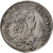 Louis XV, 1/2 Ecu de France 1721 W Lille, KM 465.13