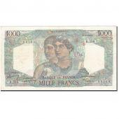 France, 1000 Francs, 1945, 1949-09-01, KM:130b, TTB+, Fayette:41.28