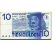 Billet, Pays-Bas, 10 Gulden, 1966-1972, 1968-04-25, KM:91b, TB