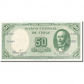Chile, 5 Centesimos on 50 Pesos, 1960, Undated (1960-1961), KM:126b, NEUF
