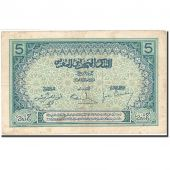 Morocco, 5 Francs, 1920-1924, KM:9, Undated (1924), VF(20-25)
