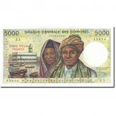 Comoros, 5000 Francs, 1984-1986, Undated (1984), KM:12a, SPL