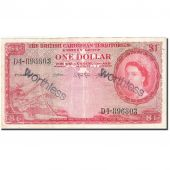 British Caribbean Territories, 1 Dollar, 1953, 1962-02-01, KM:7c, TB