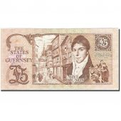 Guernsey, 5 Pounds, 1990-1991, Undated (1990-1995), KM:53a, SUP