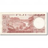 Fiji, 1 Dollar, 1974, Undated (1974), KM:71b, SUP