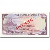Jersey, 5 Pounds, 1989, Undated (1989), KM:16s, NEUF