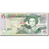 East Caribbean States, 5 Dollars, 2008, KM:47a, Undated (2008), AU(55-58)