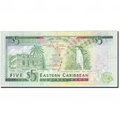 East Caribbean States, 5 Dollars, 2003, KM:42l, Undated (2003), EF(40-45)