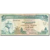 Mauritius, 200 Rupees, 1985-1991, Undated (1985), KM:39a, TB