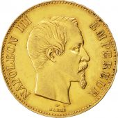 Second Empire, 100 Francs or Napoléon III tête nue 1857 Paris, KM 786.1