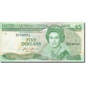 Banknote, East Caribbean States, 5 Dollars, 1985-1987, KM:18l, UNC(65-70)