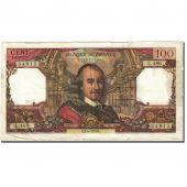 France, 100 Francs, 100 F 1964-1979 Corneille, 1964, 1970-04-02, VF(20-25)
