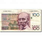 Billet, Belgique, 100 Francs, 1981-1982, Undated (1982-1994), KM:142a, TTB+