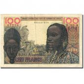 Banknote, West African States, 100 Francs, 1959-1965, 1965-03-02, KM:201Be