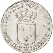 Louis XV, 1/3 Ecu de France 1721 Lille, KM 457.22
